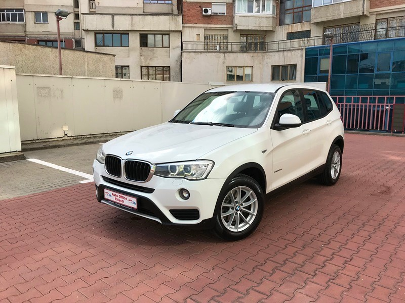 BMW X3 FACELIFT EURO 6