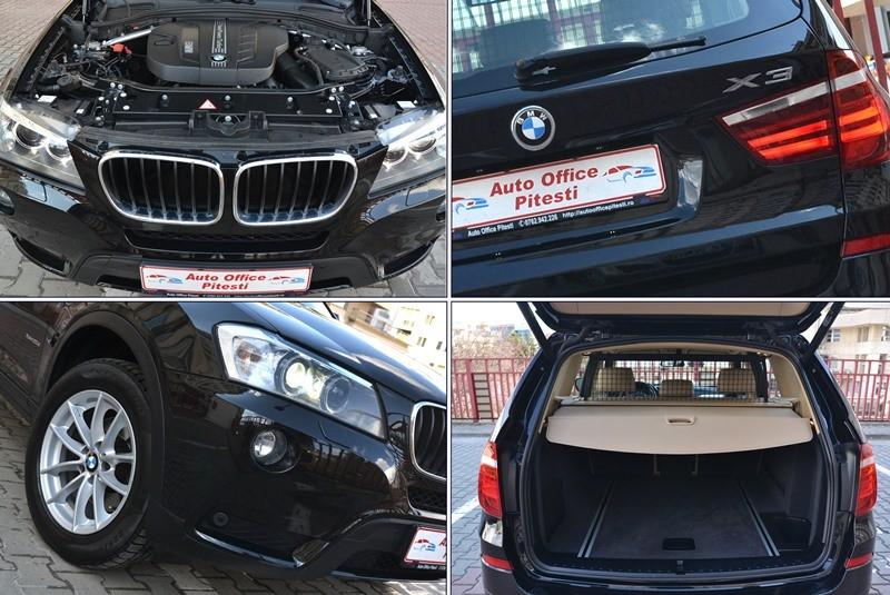 BMW X3 2.0 D 184 CP CA NOU!! Foto 13