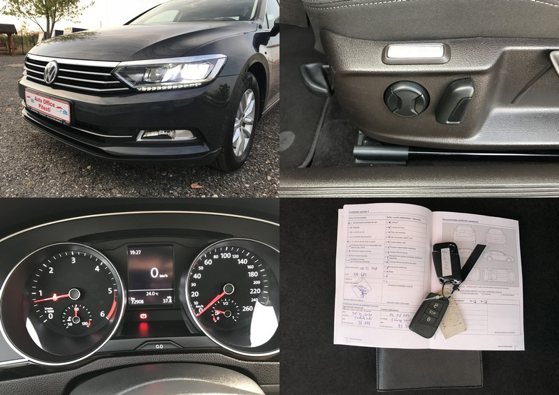 VW PASSAT 2.0 TDI 150 CP FULL LED Foto 12
