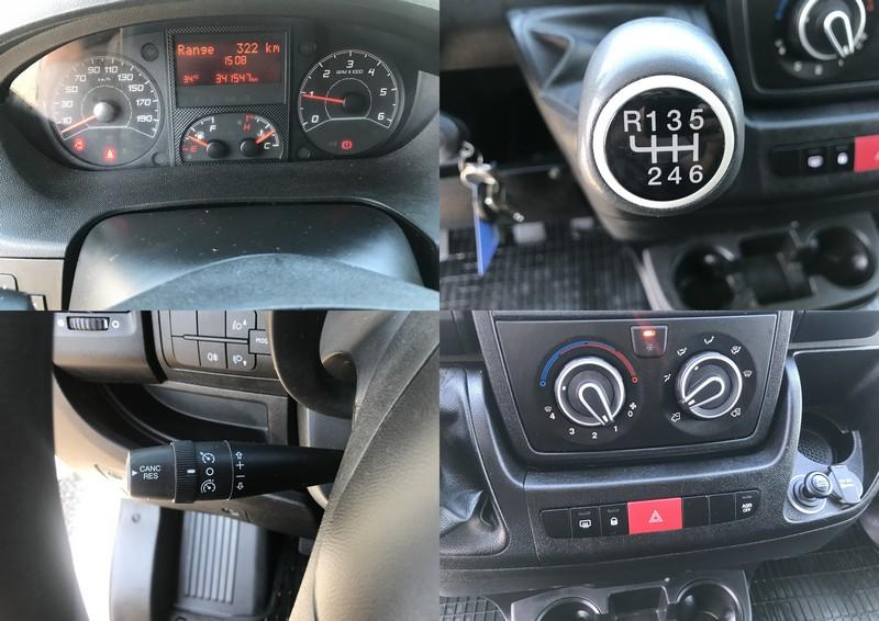 Fiat Ducato euro 6 prelata + dormitor Foto 13