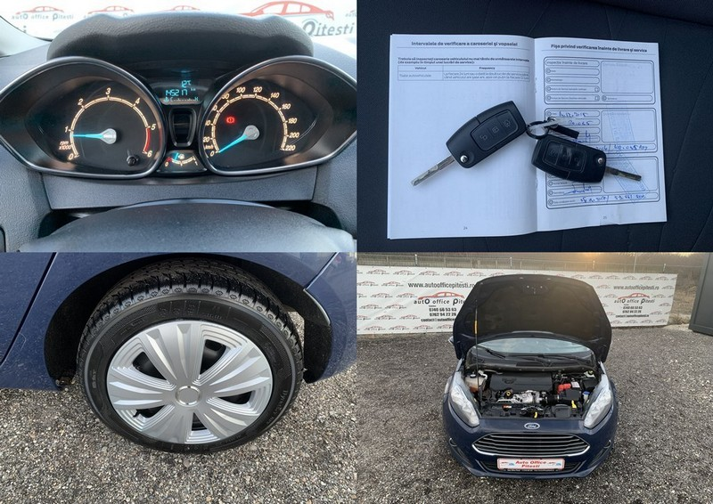Ford Fiesta 1.5 TDCI EURO 6 Foto 10