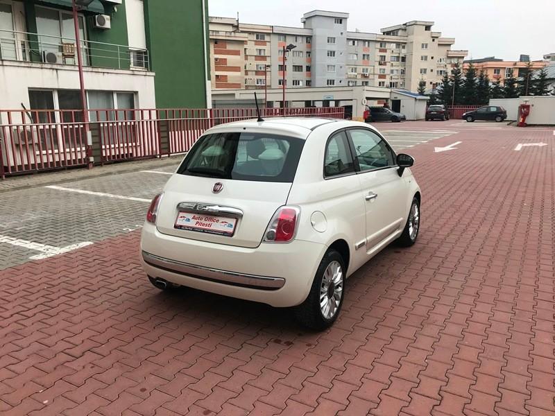 FIAT 500 EURO 6 ALB PERLAT Foto 4