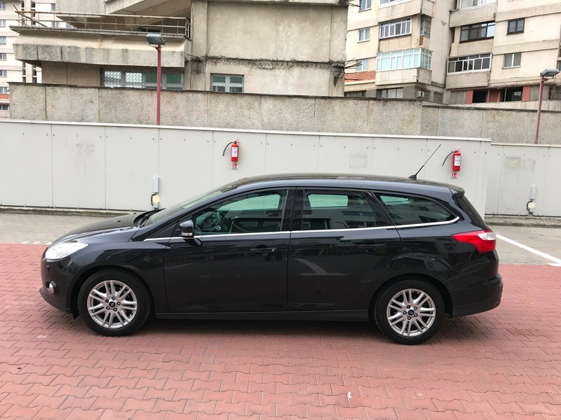FORD FOCUS BREAK TITANIUM 1.6 TDCI 115 CP Foto 7