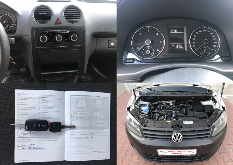 VW CADDY VAN 1.6 TDI Foto 10