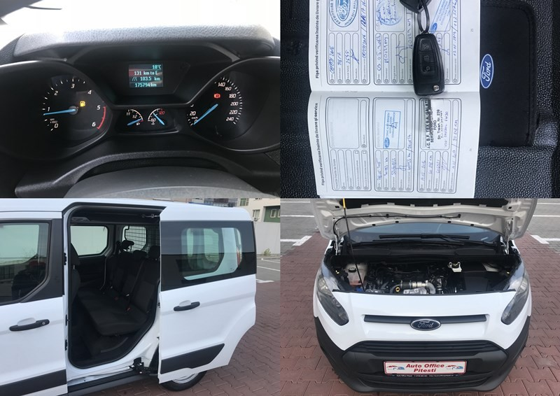 Ford Transit Connect Marfa + Persoane Foto 10