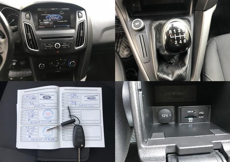 Ford Focus 1.6 TDCI Facelift Impecabil Foto 9