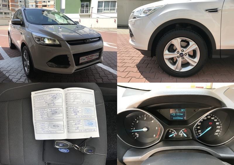 Ford Kuga 2.0 TDCI Alb Perlat,Xenon Foto 11